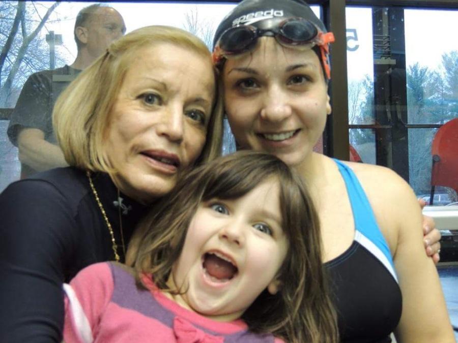 Swim Meet with Mom